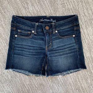 AE shortie Jean shorts